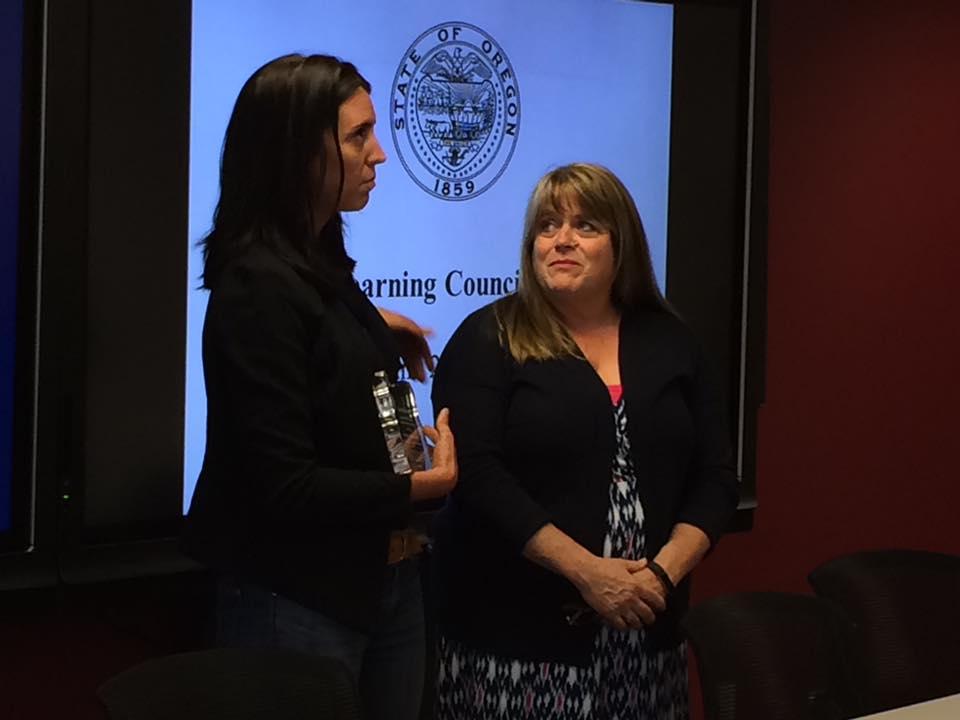 Lynne Angland Award Recipients