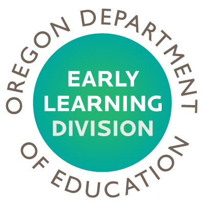 Oregon DEPARTMENT OF EDUCATION Early Learning Division logo