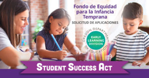 Early Childhood Equity Fund Graphic/Social Media (Spanish)